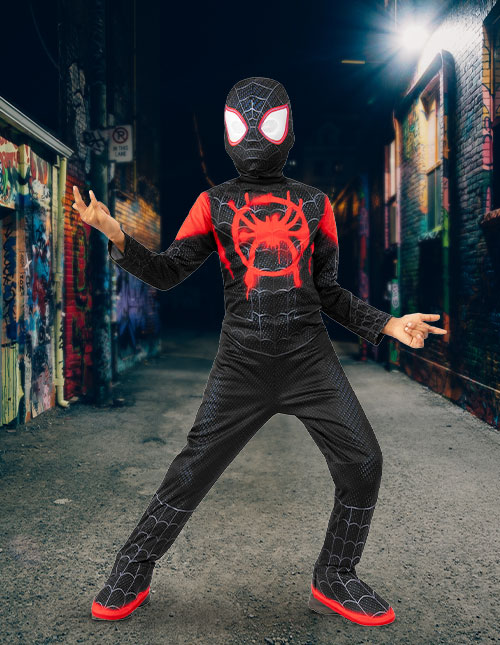 Miles Morales Spider-Man Costume