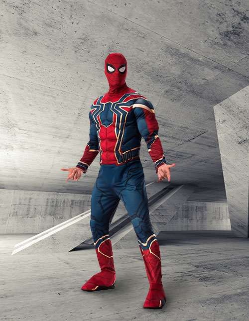 Adult Infinity War Iron Spider Costume