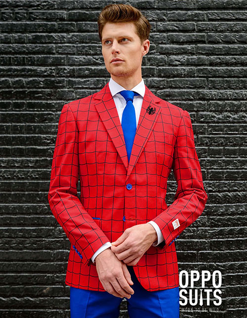 Men's Spider-Man Suit