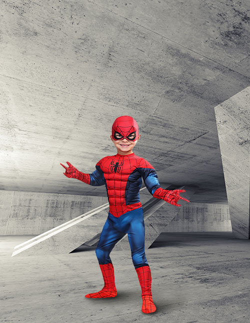 Toddler Spider-Man Costume