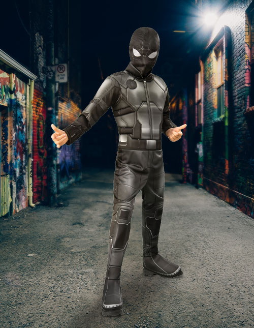 Spider-Man Stealth Suit Costume