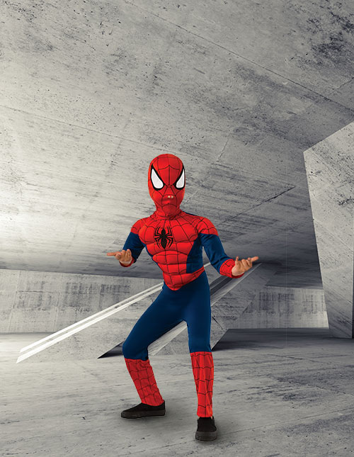 Spider-Man Costumes - Adult and Kids Spider-Man Halloween Costumes e3fa69253e32