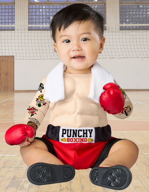 Baby Boxer Costume