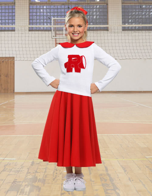 Grease Cheerleader Costume