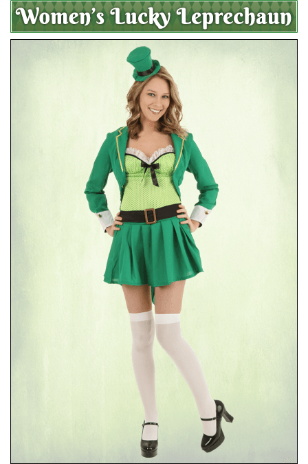 Women's Lucky Leprechaun Cosutme
