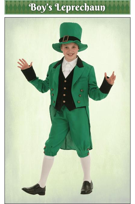 Boy's Leprechaun Costume