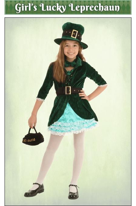 Girl's Lucky Leprechaun Cosutme