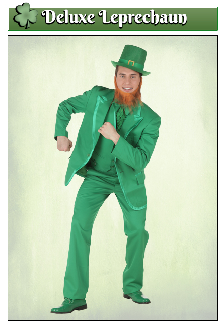 St Patricks Day Costumes Adult Kids Leprechaun Costumes