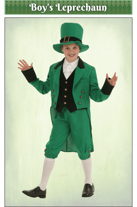 Boy's Leprechaun Costume