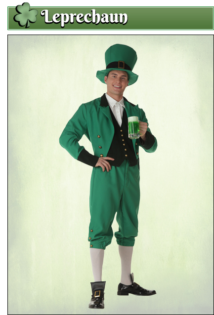 Leprechaun Costume Idea
