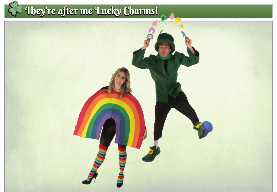 St Patricks Day Lucky Charms Costumes