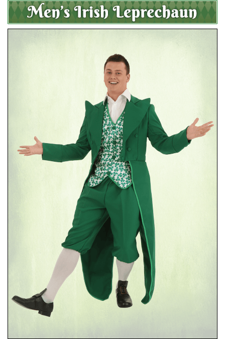 Men's Irish Leprechaun Costume