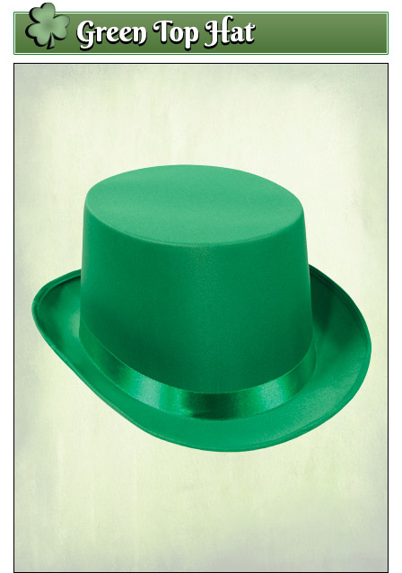 St Patricks Day Top Hat