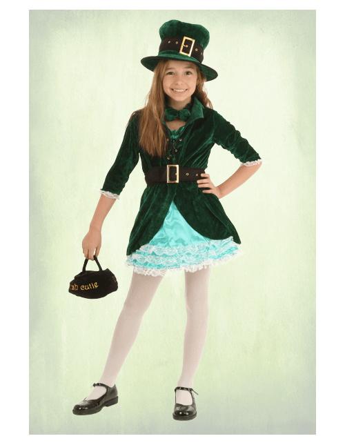 Girls' Leprechaun Costume