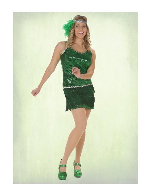Green Flapper Costume