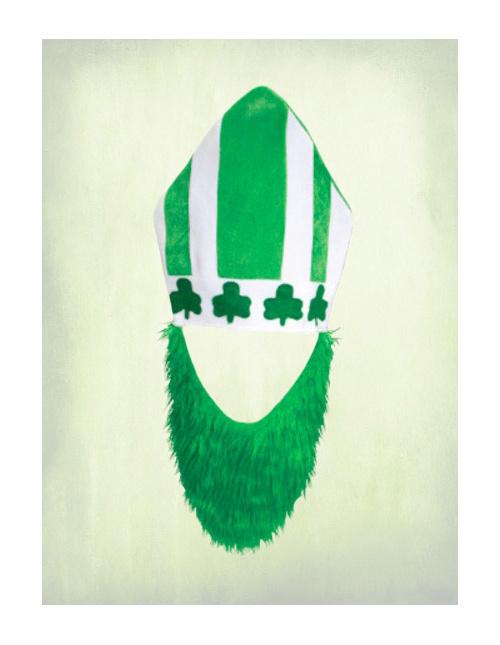 St. Patrick's Day Hat & Beard