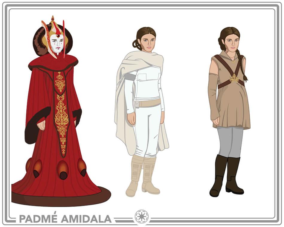 Padme Amidala Costume Ideas