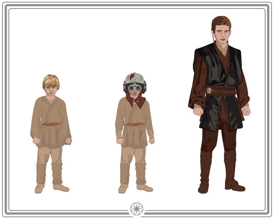 Anakin and Darth Vader Costume Ideas