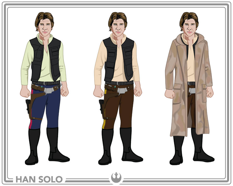 Star wars costumes adult kids star wars costumes han solo costume ideas solutioingenieria
