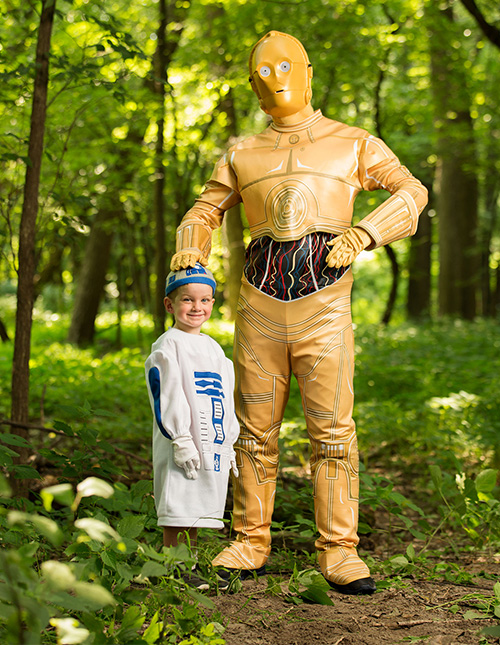 R2D2 and C3PO Costumes