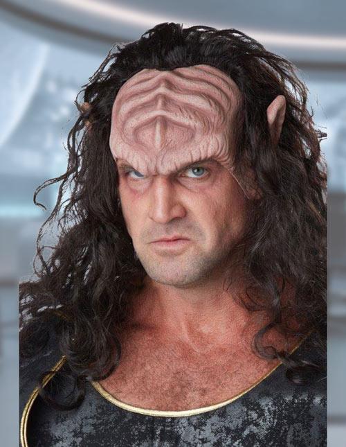 Klingon mask/wig