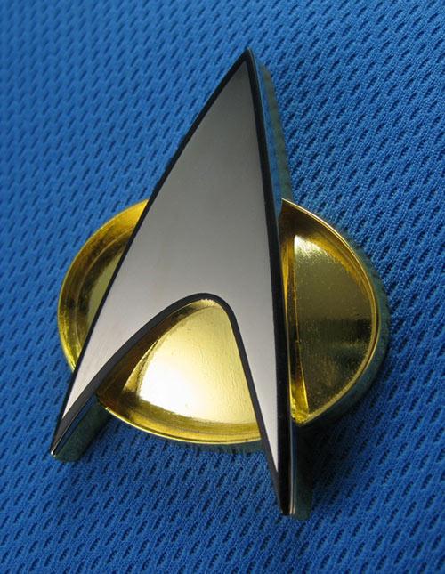 Star Trek Communicator Badge