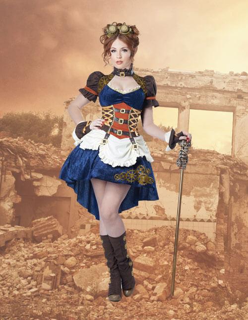 Fantasy Steampunk Costume