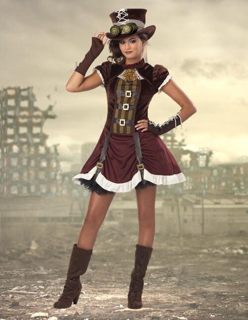 Tween Steampunk Costume