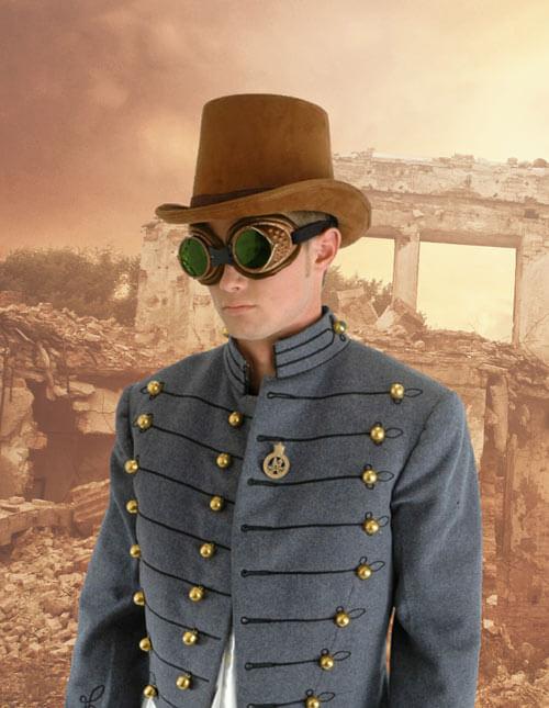 Suede Coachman Hat