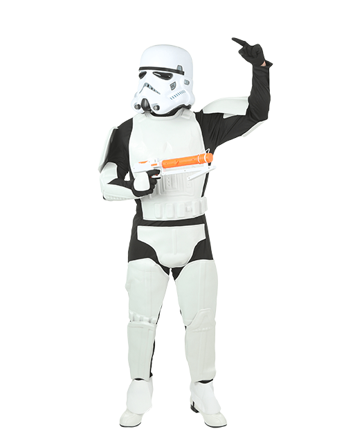 Stormtrooper Strategy Pose