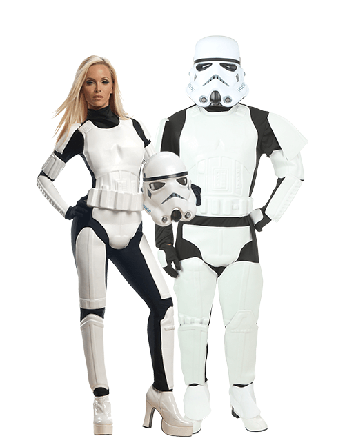 Stormtrooper Couples Costumes