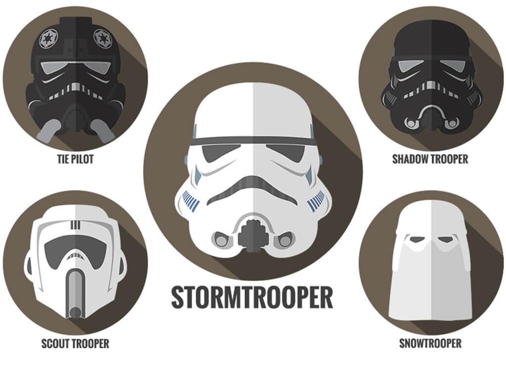 Stormtrooper Empire Helmets