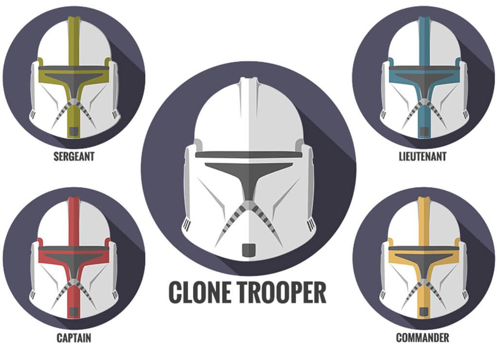 Phase 1 Clone Trooper Helmets