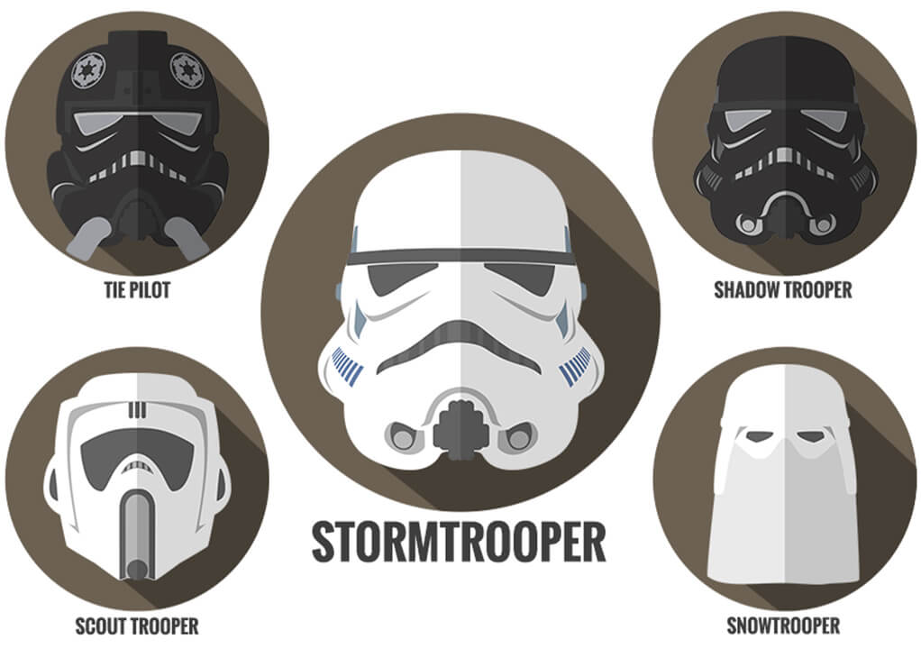 Stormtrooper Empire Helmets