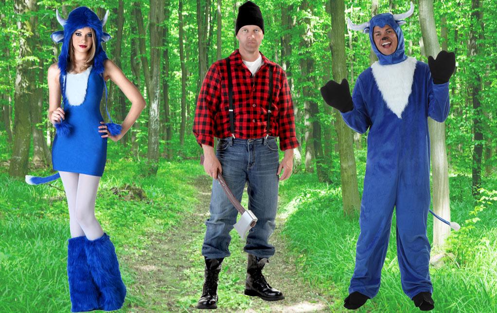 Paul Bunyan Costumes