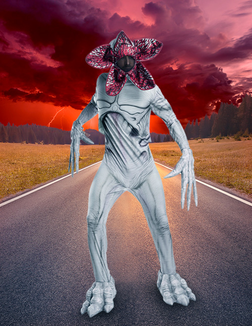 Stranger Things Demogorgon Costume