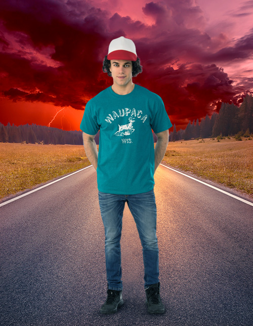 Stranger Things Dustin Shirt
