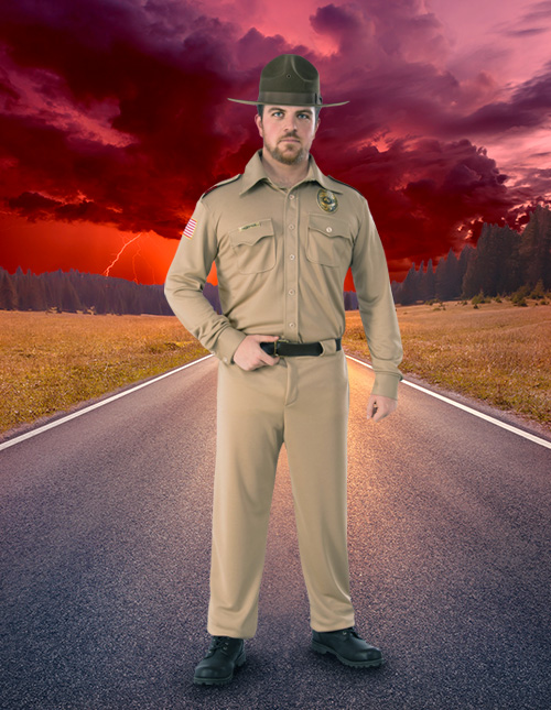 Stranger Things Jim Hopper Costume