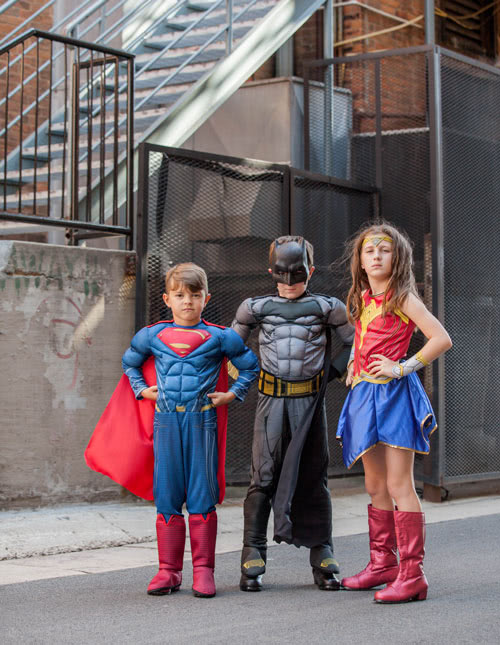 Pint Sized Justice League Ready for Action