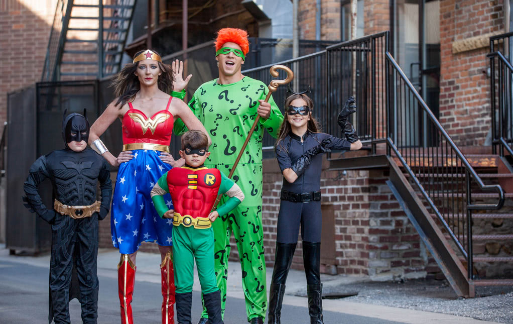 DC Comics Family Ready for a Throwdown