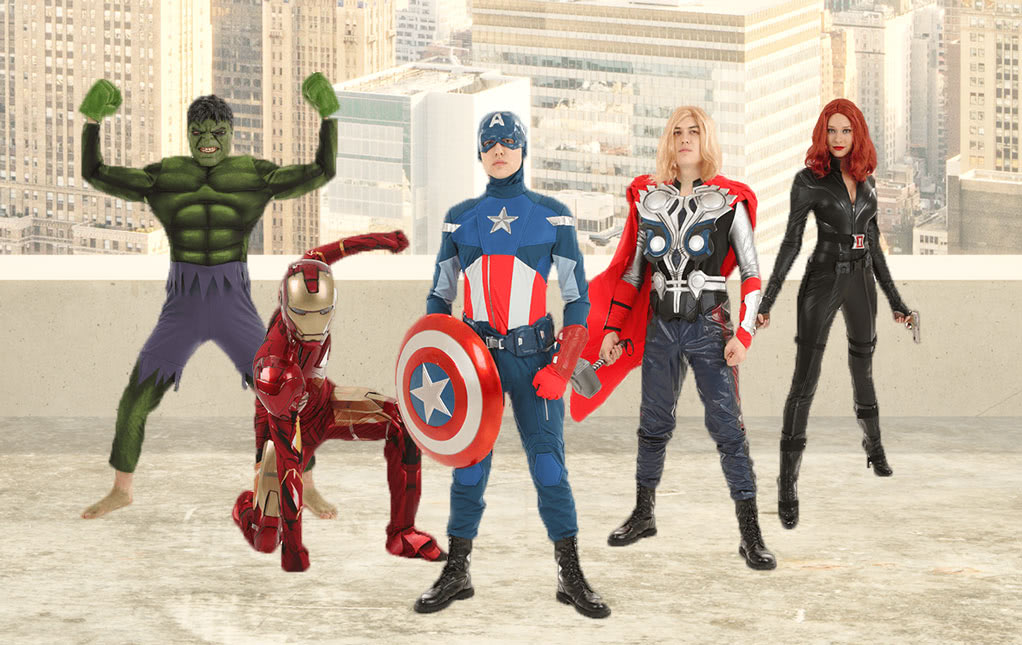 Superhero Costumes For Halloween - Marvel and DC Costumes