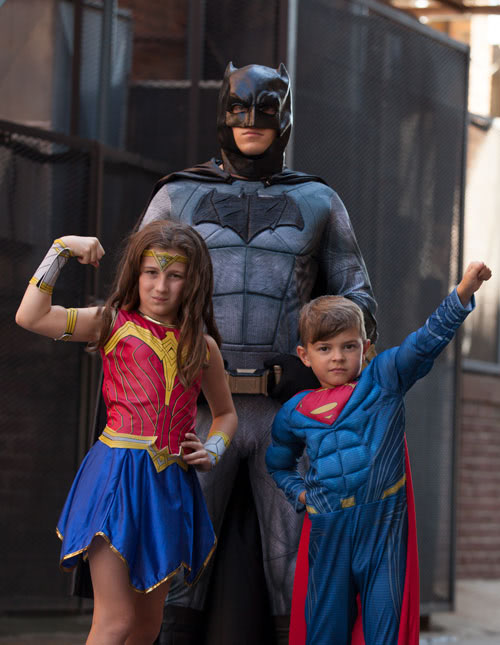 Kids and their Parents too: Family Superhero Costumes