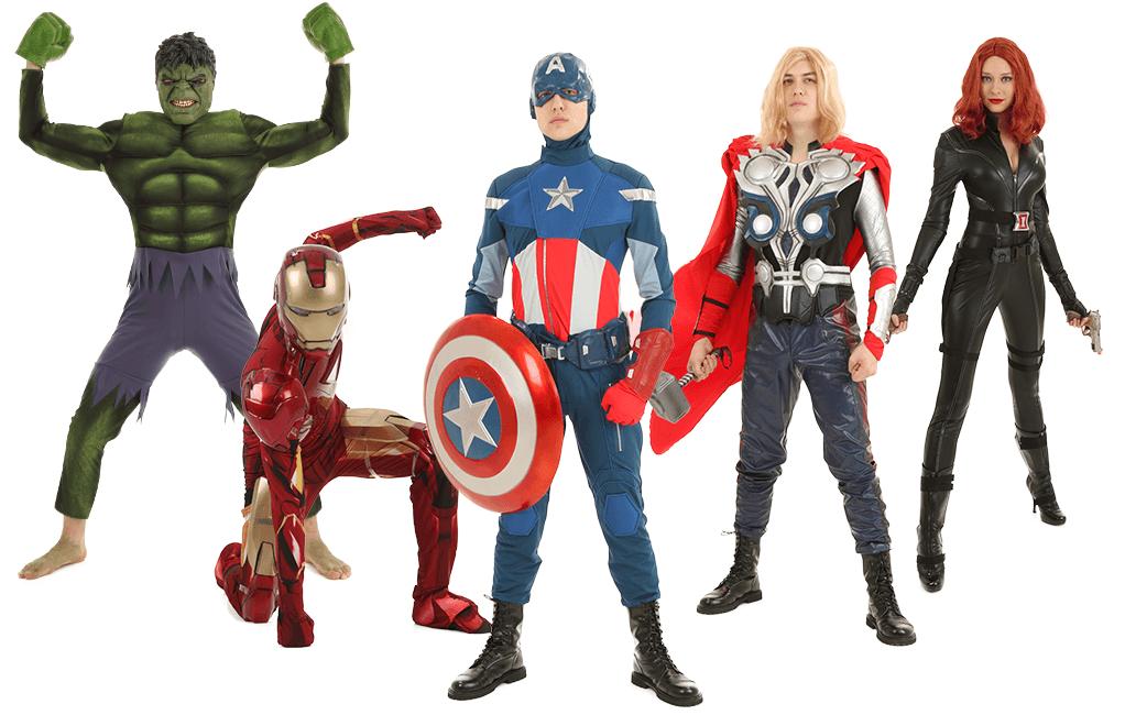 Avengers Assemble Pose