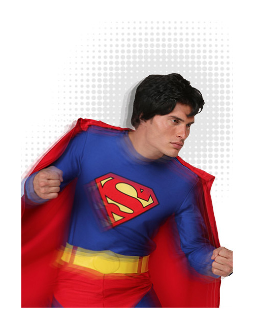 Superman Costume for Adults