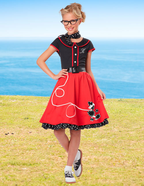 50s sock hop costume