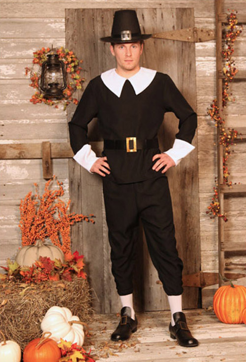 Thanksgiving Costumes Adult Child Pilgrim And Indian