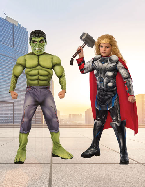 Thor and Hulk Costumes