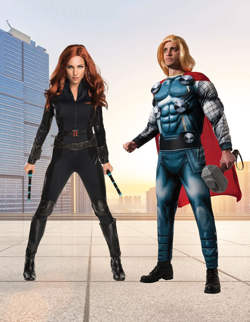 Thor and Black Widow Costumes