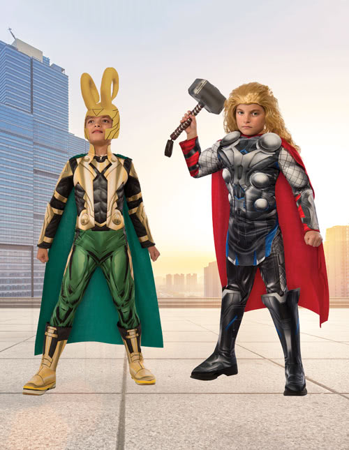 Thor and Loki Costumes