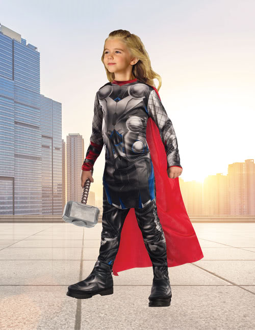Thor Girls Costume